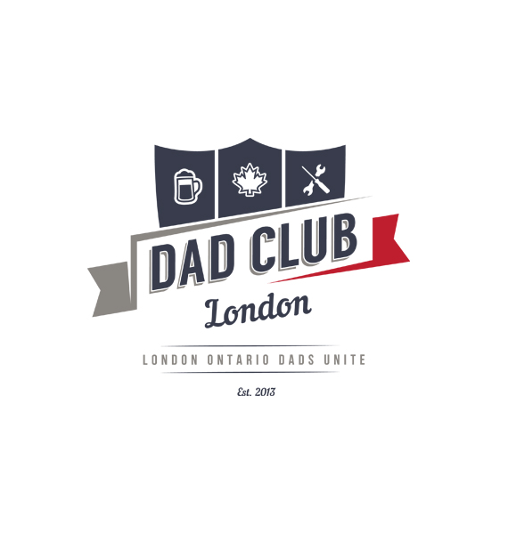 Dad Club London Logo Design