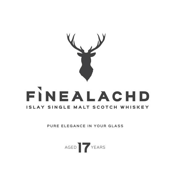 FÌNEALACHD Islay Single Malt Scotch Whiskey Logo Design