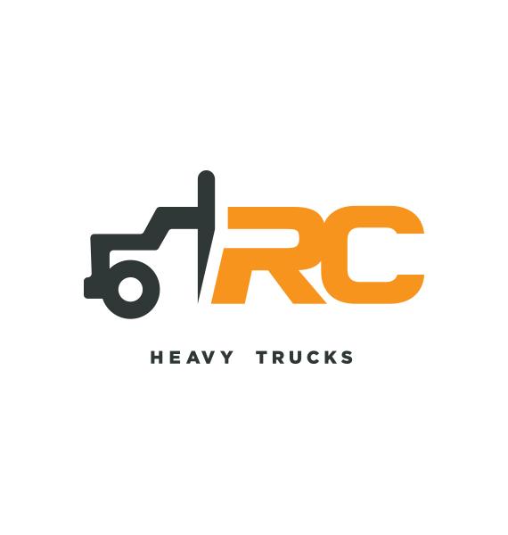 Heavy Truck Company Logo Concepts
