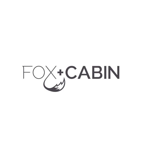 FOX + CABIN logo design concept