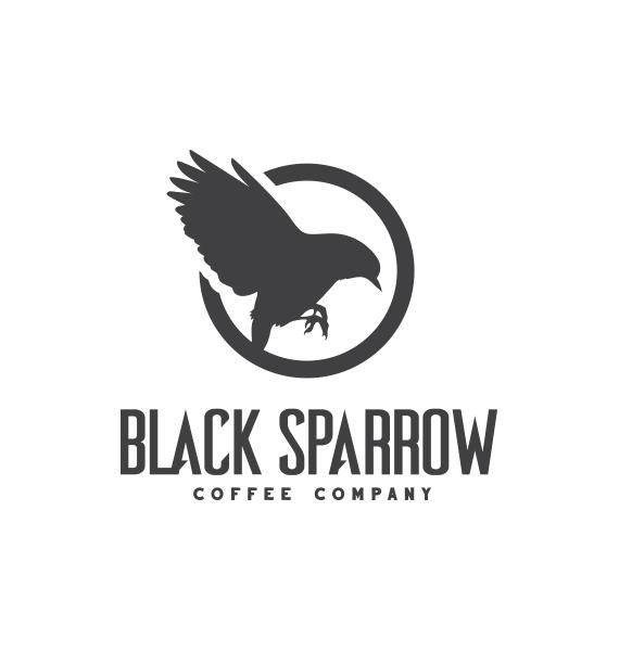 Black Sparrow Coffee Co. | Logo Design