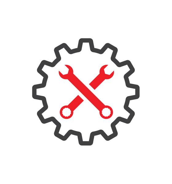 High Gear Auto Repair Logo Design project