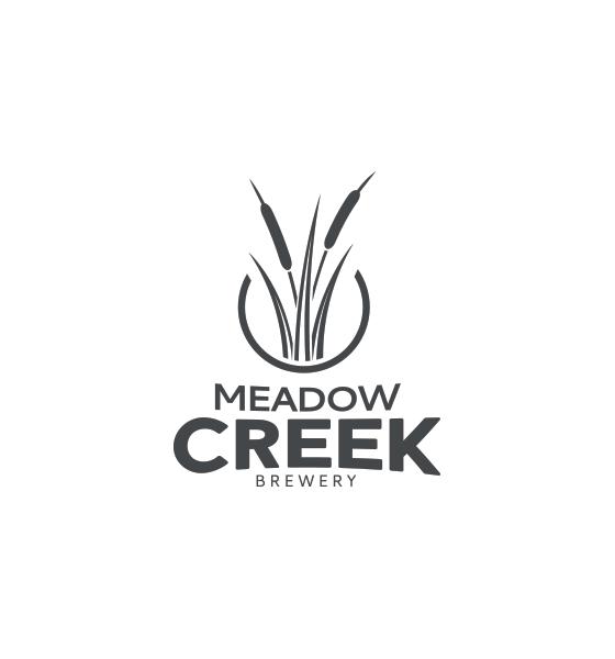 Meadow Creek Small Batch Brewery Logo Design