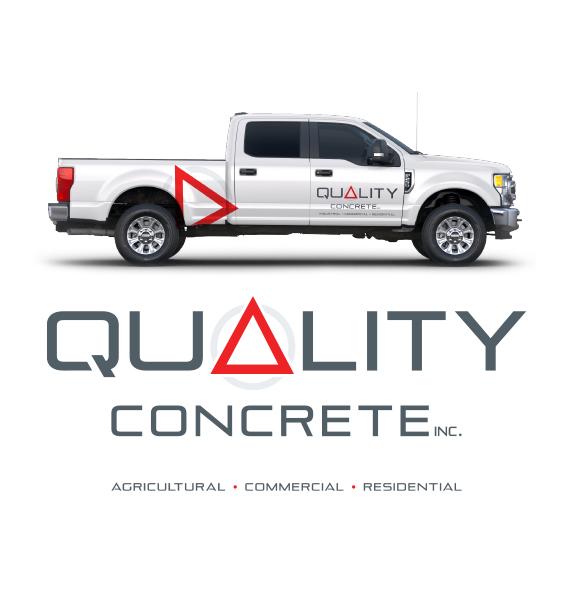 Quality Concrete Inc. Logo Design